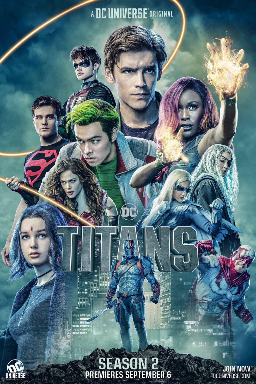 Photo of Netflix lanza el trailer de la segunda temporada de «Titanes»