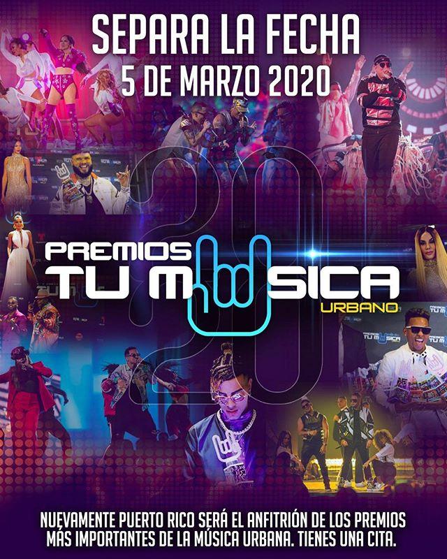 Photo of Premios Tu Música Urbano 2020 anuncia la lista completa de nominados