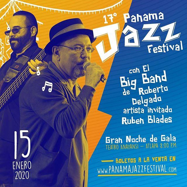 Photo of Panamá Jazz Festival anuncia La Big Band de Roberto Delgado y Rubén Blades como artistas invitados