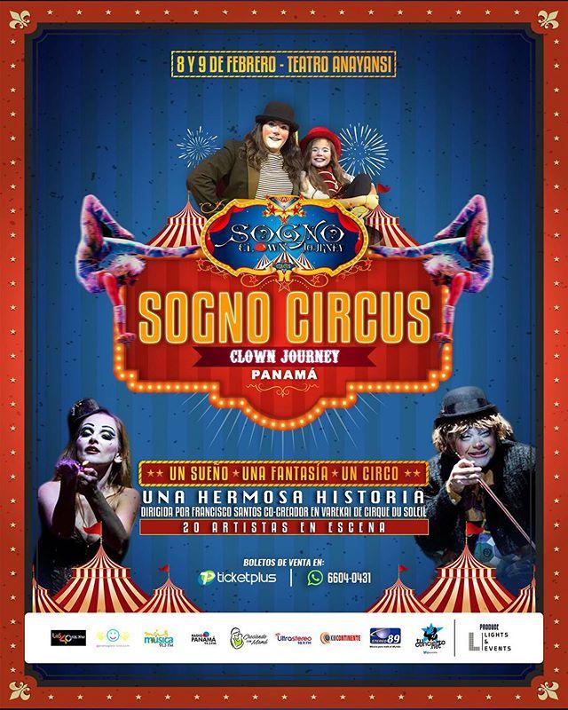 Photo of ¡Atención! recuerda adquirir tu boleto para disfrutar de «Sogno Circus»