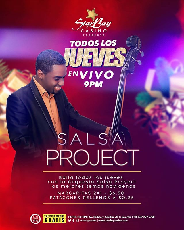 Photo of Starbay casino presenta «Todos los jueves» Salsa Project