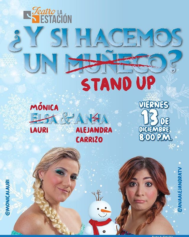 Photo of Teatro la Estación presenta «Y si Hacemos un Stand Up?»