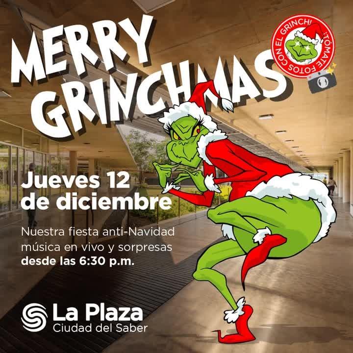 Photo of El Grinch llega a La Plaza de Ciudad del Saber