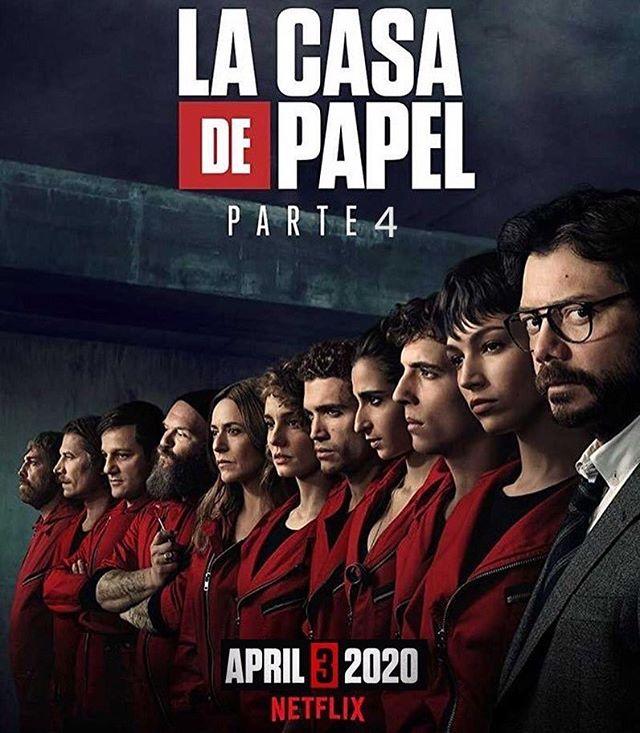Photo of Netflix anuncia la fecha de estrena de la 4ta. Temporada de 'La Casa de Papel'