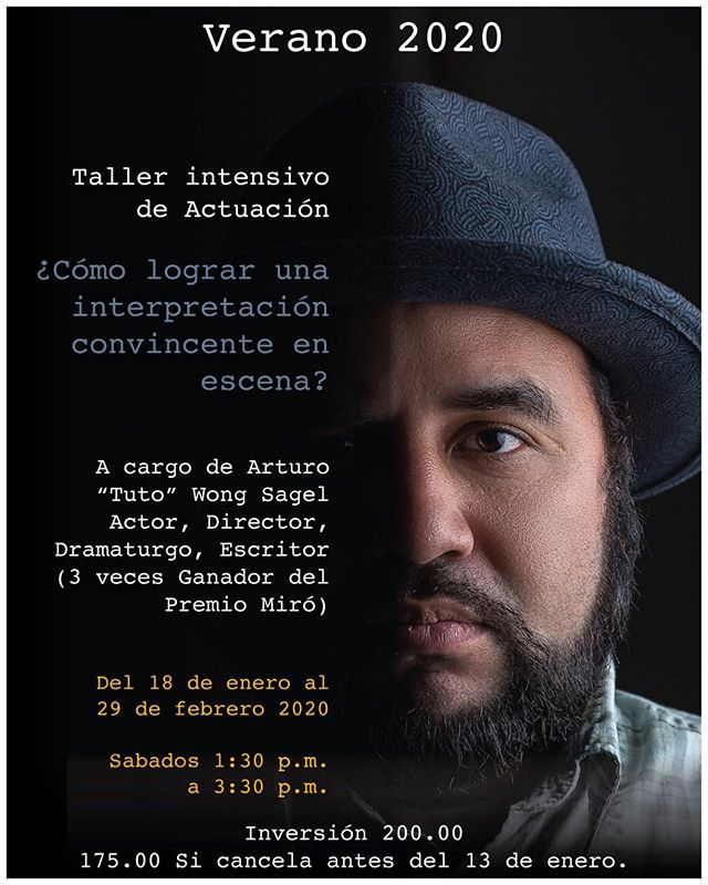 Photo of Taller Intensivo de actuación en Teatro la Estación