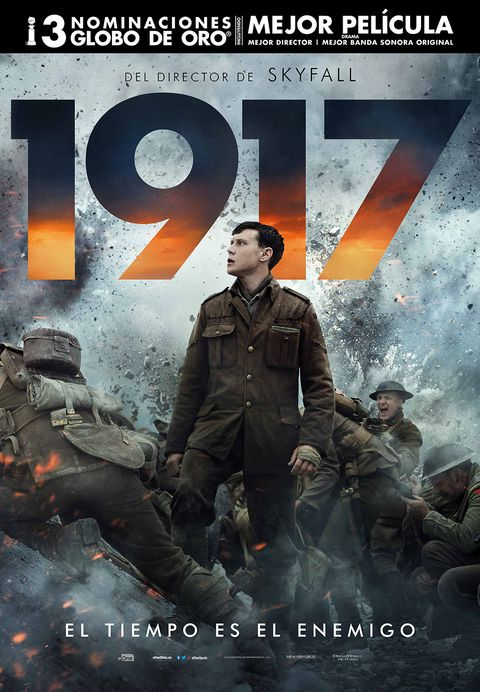 Photo of La película '1917' del director Skyfall, ya está en los cines de Panamá