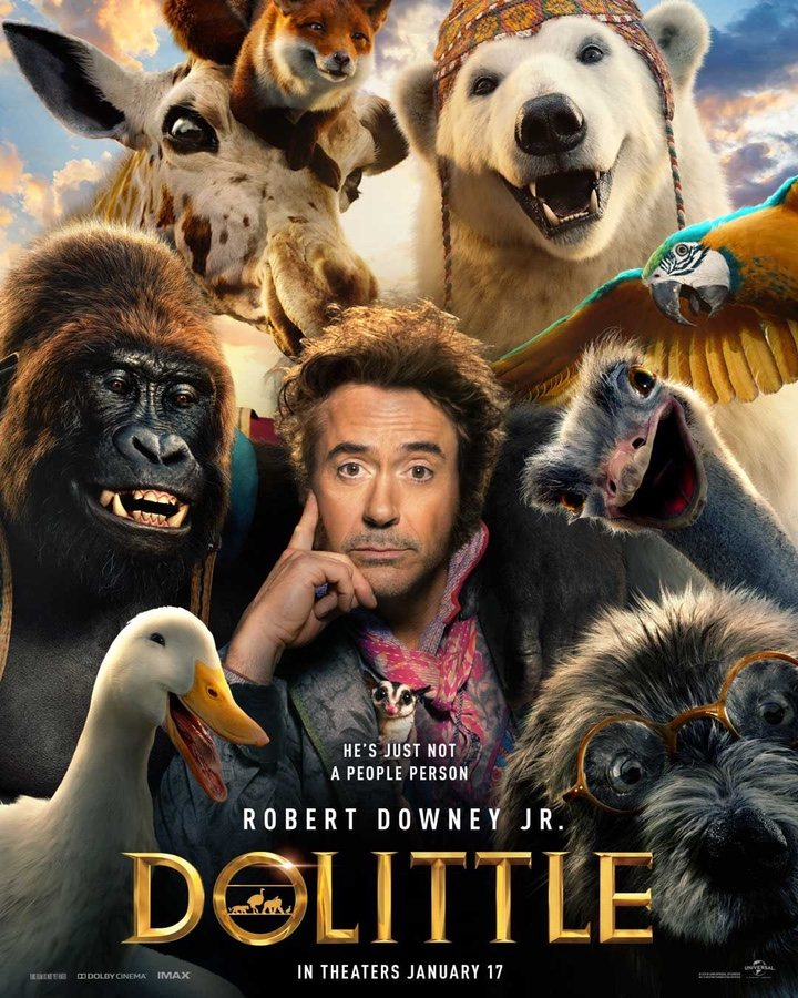 Photo of En cines disfruta de 'Dolittle'