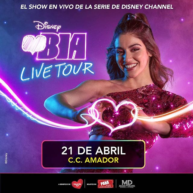 Photo of BIA Live Tour en su primera gira mundial llega a Panamá el 21 de abril