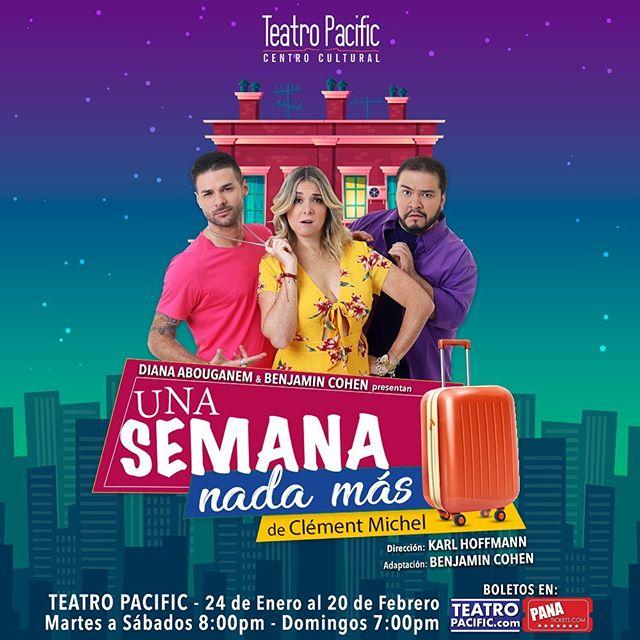 Photo of Teatro Pacific estrena el 24 de enero la comedia «Una Semana Nada Más»
