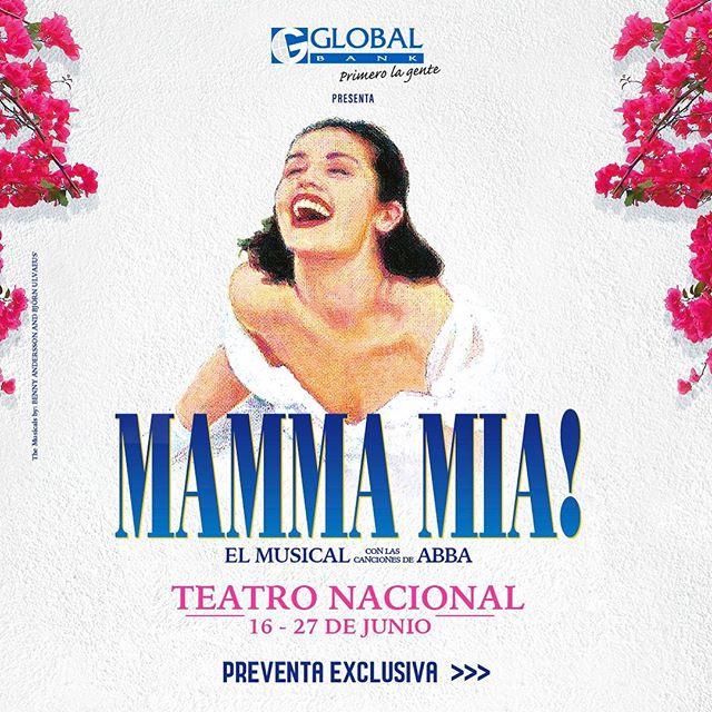 """Photo of El musical """"Mamma Mia!"""" llega al Teatro Nacional el próximo mes de junio"""