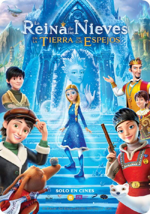 Photo of Este 09 de enero se estrena para toda la familia «La Reina de las Nieves»
