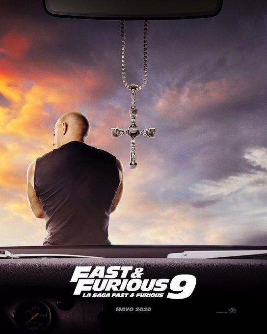 Photo of Vin Diesel fue el encargado de mostrar el primer poster de 'Rápidos y Furioso 9'