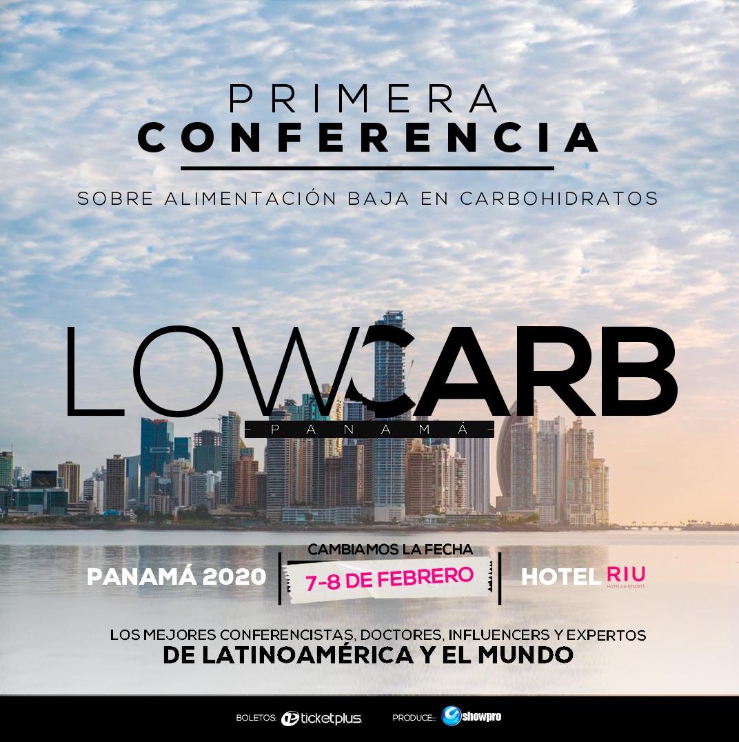 Photo of ¡Nueva Fecha! para 'Low Carb' la primera conferencia de alimentación en Panamá