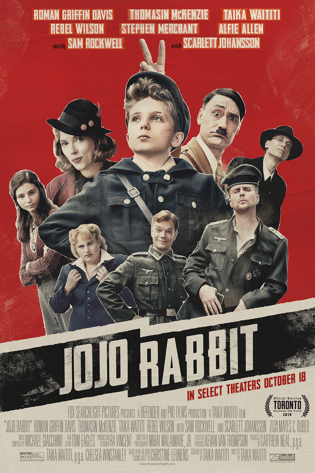 Photo of «Jo Jo Rabbit» llega a las salas de cines de Panamá