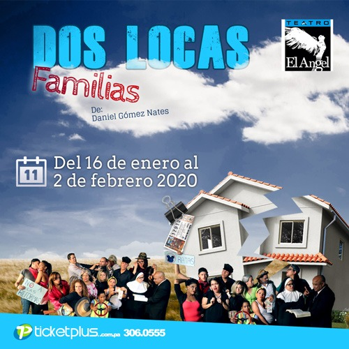 Photo of 'Dos Locas Familias' en Teatro el Ángel
