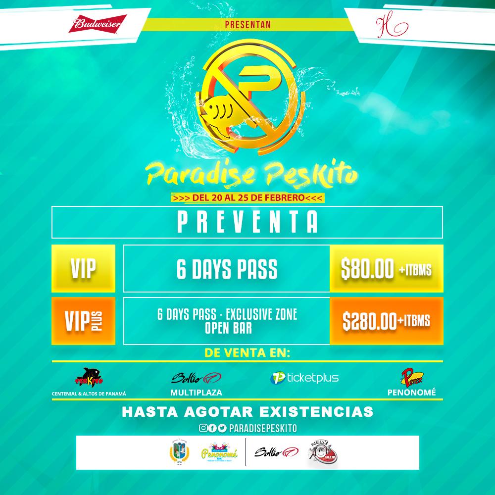"""Photo of Regresa el mejor carnaval en Panamá con """"Paradise Peskito 2020"""""""