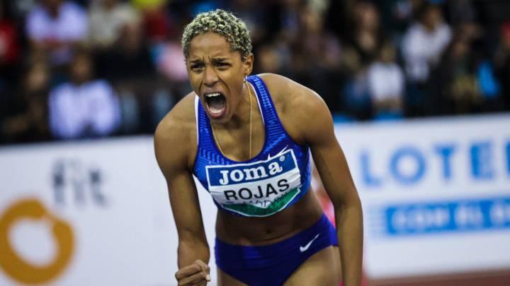 Photo of Yulimar Rojas estableció nuevo récord mundial en el salto triple bajo techo