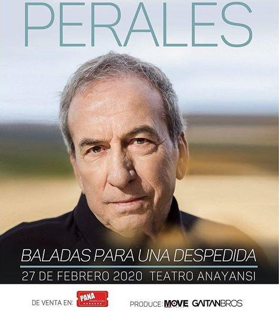 Photo of José Luis Perales se despide de Panamá este 27 de febrero con su gira «Baladas para una despedida»