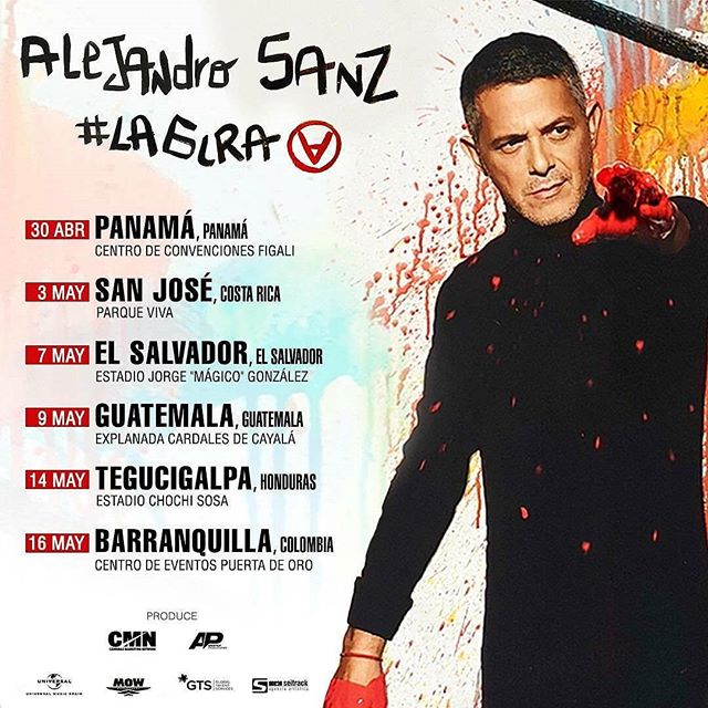 Photo of Alejandro Sanz regresa a Panamá en concierto este 30 de abril