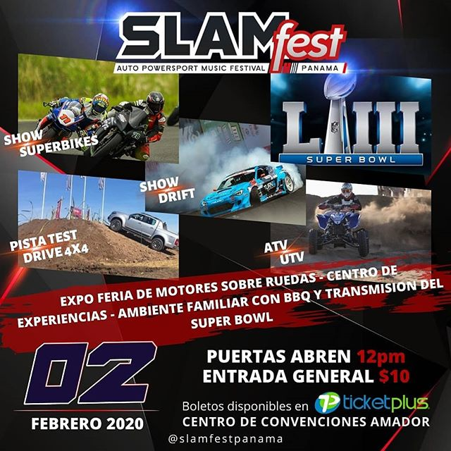 Photo of ¡Falta Poco! para el Auto Powersport Music Festival «Slam Fest Panamá»