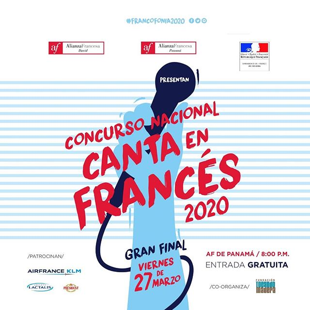 """Photo of Alianza Francesa los invita al """"Concurso Nacional Canta en Francés 2020"""""""