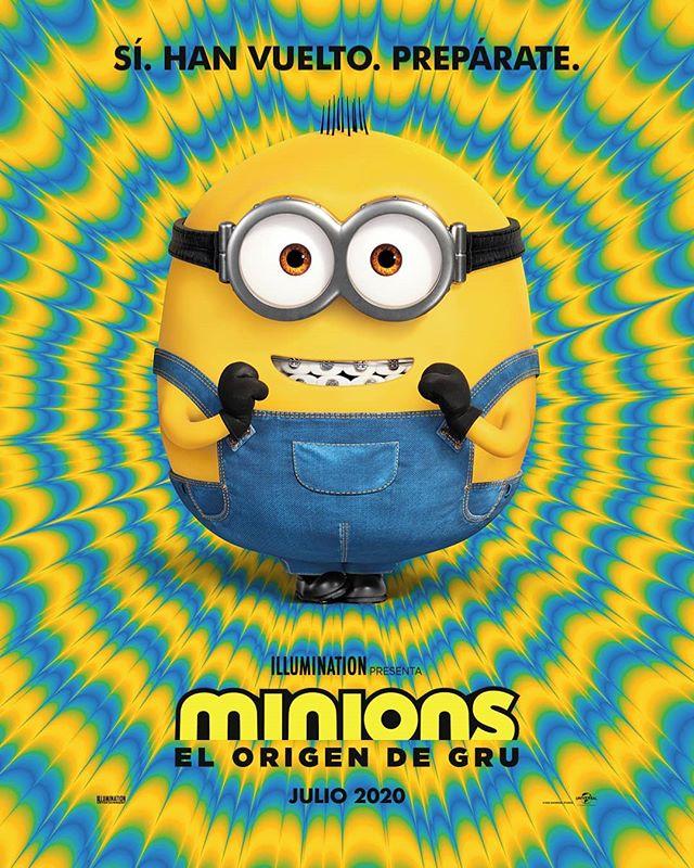 Photo of Se estrena el primer póster de 'Minions: El origen de Gru'
