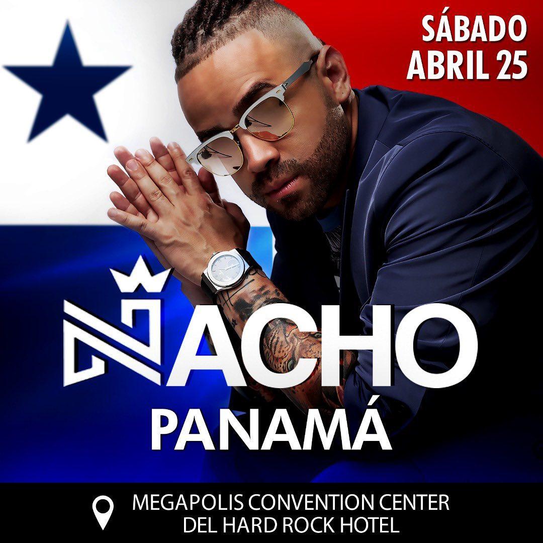 Photo of Nacho estará en concierto en Panamá el 25 de abril