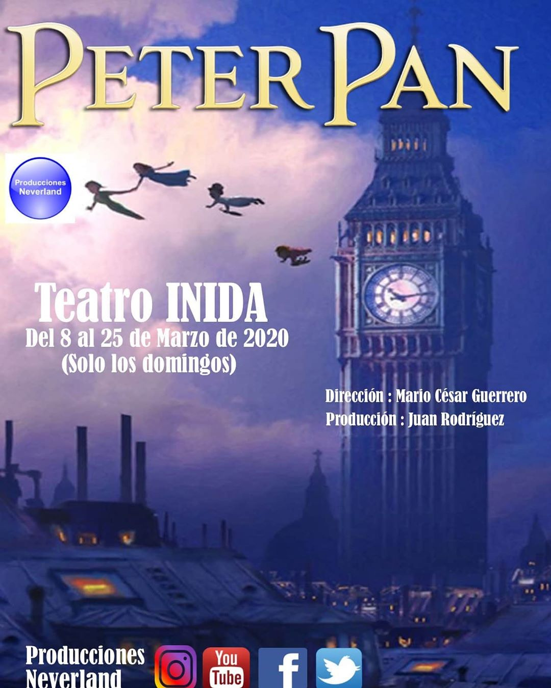 Photo of Producciones Neverland presenta «Peter Pan»