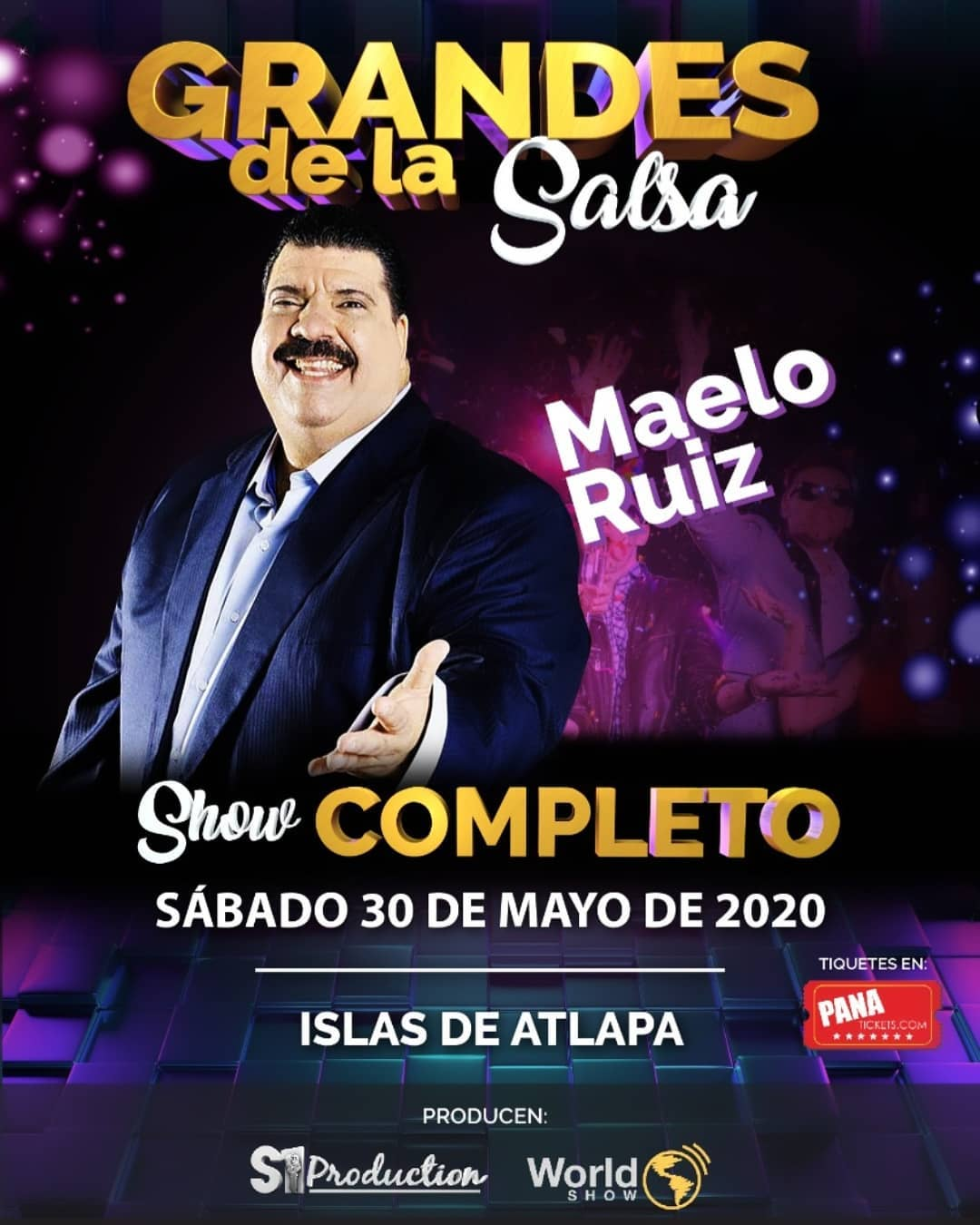 """Photo of Concierto de los """"Grandes de la Salsa"""" en Centro de Convenciones Atlapa"""