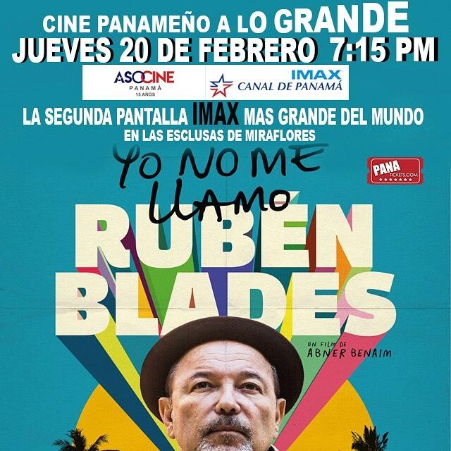 Photo of IMAX Canal de Panamá presenta en cine panameño «Yo No Me Llamo Rubén Blades»