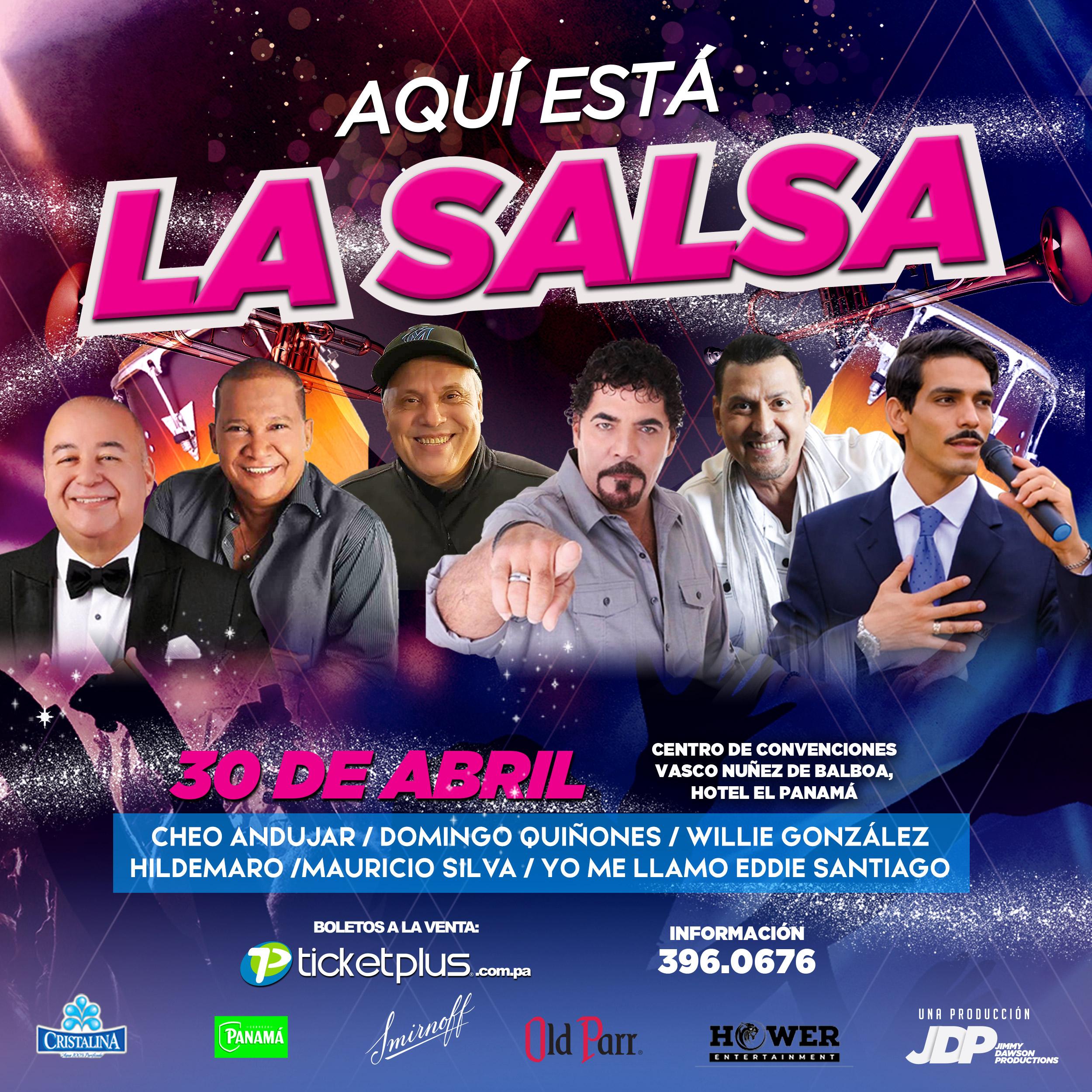 Photo of Panamá presenta concierto «Aquí Esta La Salsa» junto a grandes del género