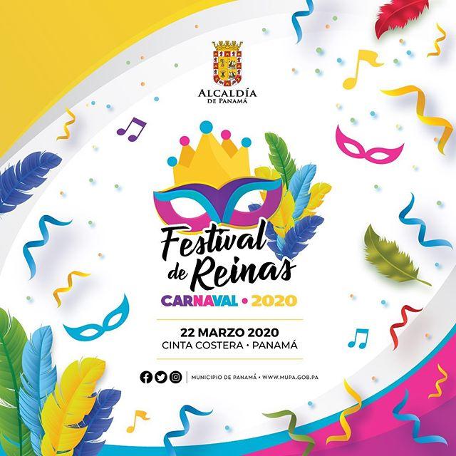 """Photo of La Alcaldía de Panamá los invita para el """"Festival de Reinas"""" Carnaval 2020"""