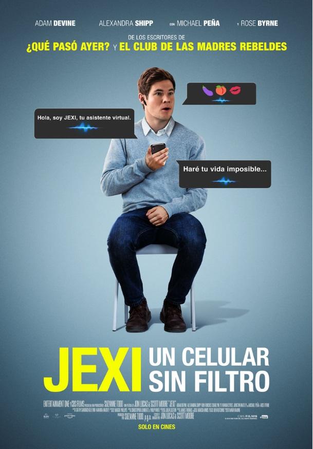 Photo of Estrena en las salas de cines de Panamá «Jexi: Un celular sin filtro»