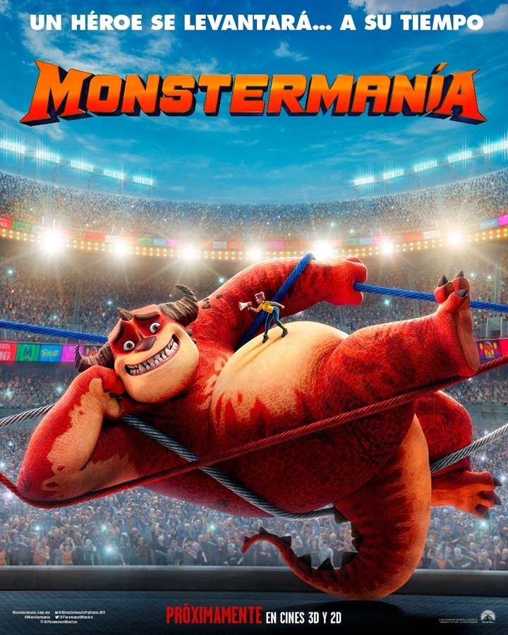 Photo of 'Mostermanía' la nueva película animada de Paramount Pictures