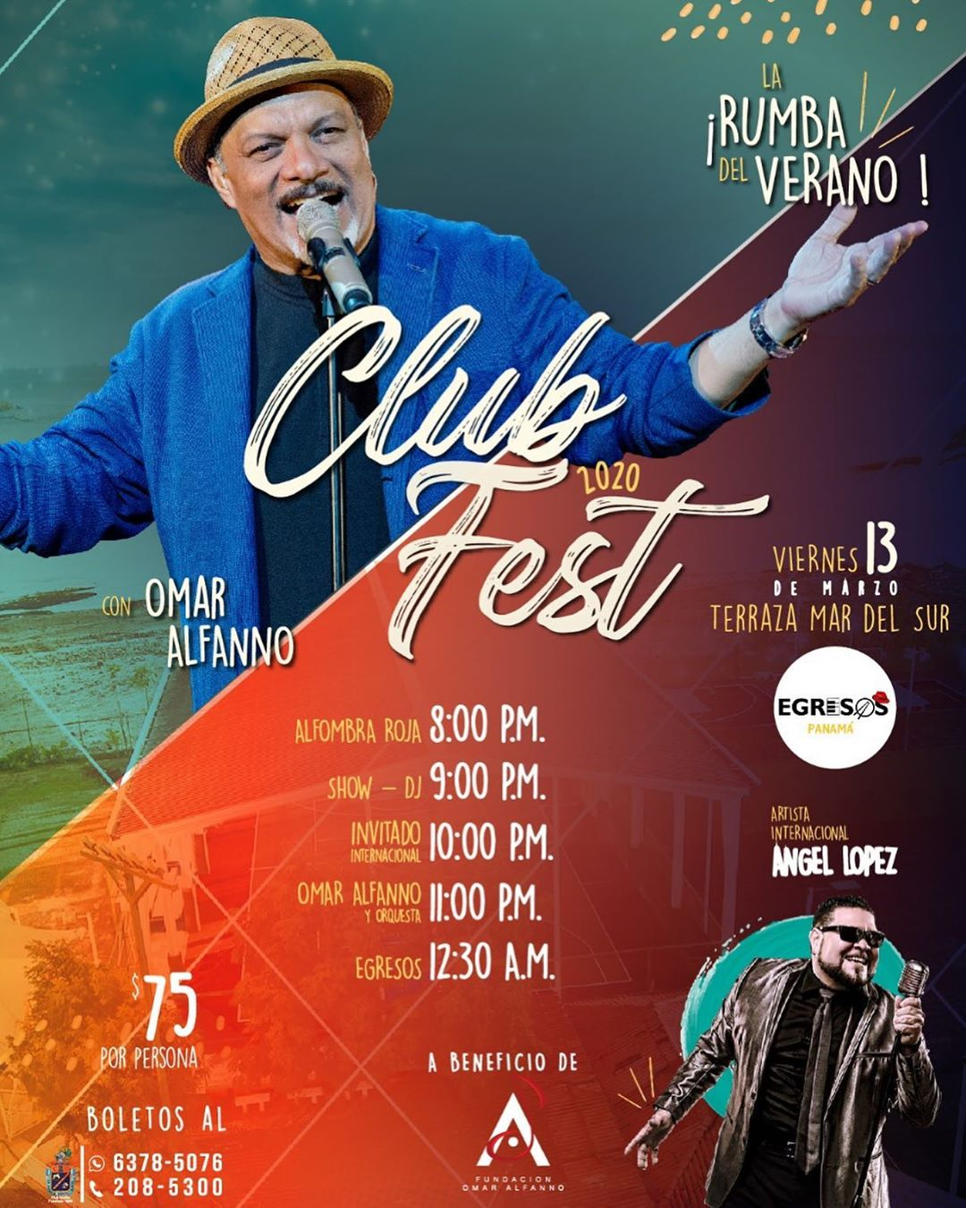 Photo of Club Fest 2020 con Omar Alfanno
