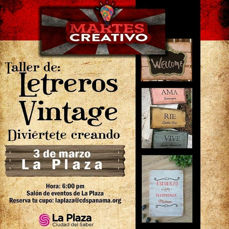 Photo of Plaza Ciudad del Saber presenta «Martes Creativo»