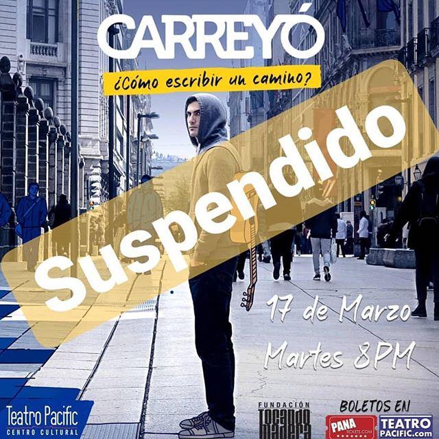 Photo of Se suspende el concierto de Carreyó en Panamá