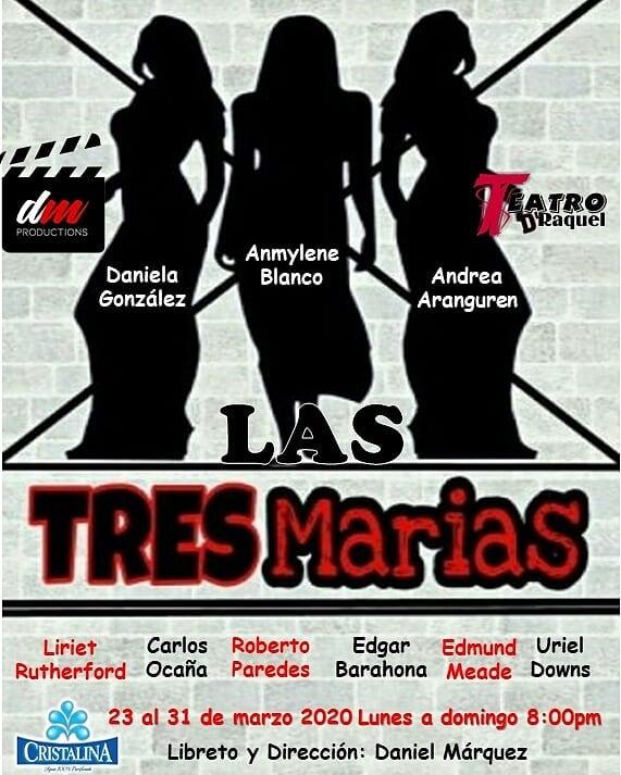 Photo of «Las Tres Marías» es la nueva obra de Teatro D' Raquel