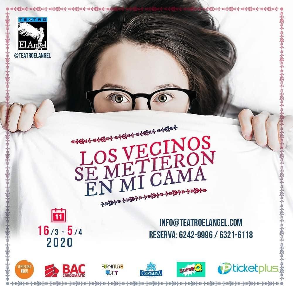 Photo of Teatro el Ángel presenta «Los vecinos se metieron en mi cama»