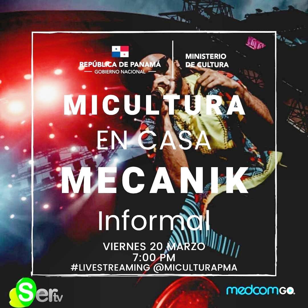 Photo of 'Mi Cultura en Casa' presenta concierto Live de 'Mecanik Informal'