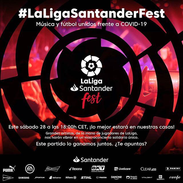Photo of Disfruta del «LaLiga Santander Fest» en un festival virtual