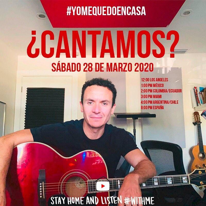 Photo of Fonseca anuncia su concierto live para este sábado 28 de marzo