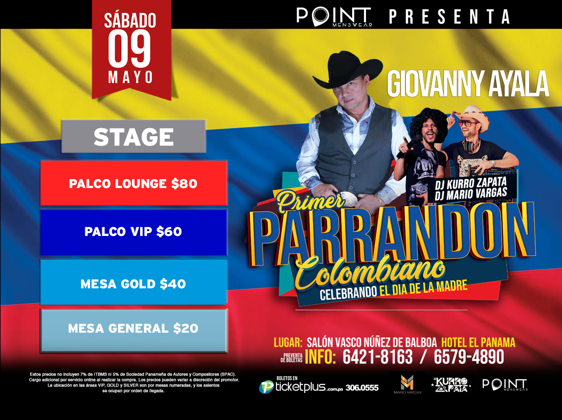 Photo of Primer 'Parrandon Colombiano' en Hotel el Panamá
