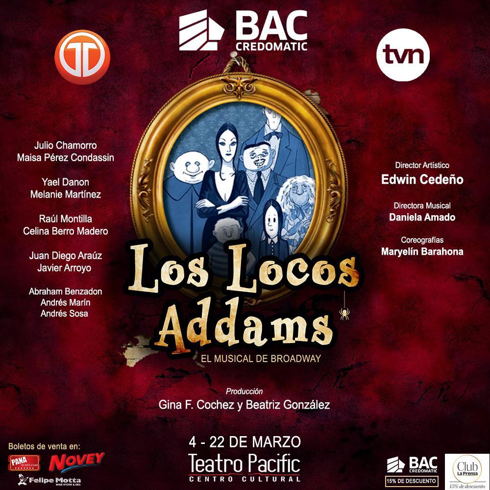 Photo of La Comedia Musical de Broadway 'Los Locos Addams'  llega a Panamá