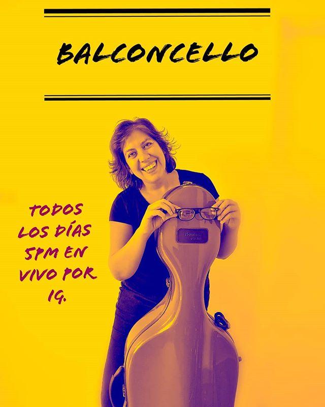 Photo of Karina Núñez presenta «Balcón-Cello» todos los días a las 5:00 P.M.