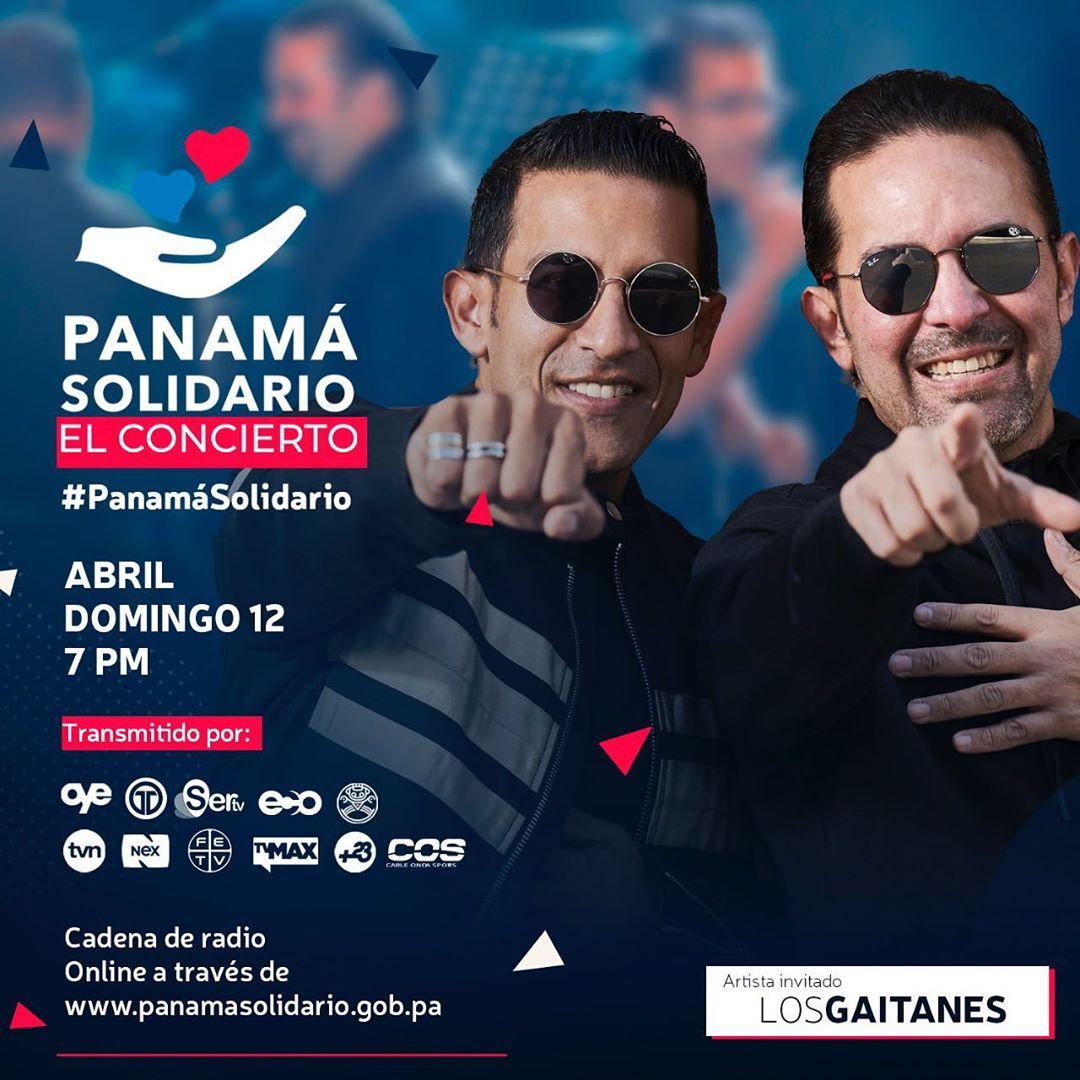 Photo of 'Los Gaitanes' estarán como artistas invitados al «Panamá Solidario – El Concierto»