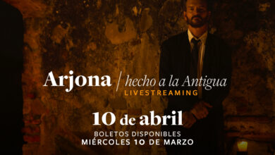 Photo of Livestreaming con Ricardo Arjona «Hecho a la Antigua»