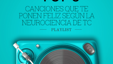 Photo of Top 5 de las canciones que te ponen feliz según la neurociencia de Tuconcierto Radio