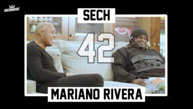 """Photo of Histórica conversación entre Sech y Mariano Rivera """"42"""""""
