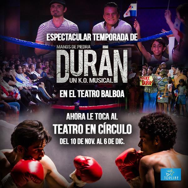 """Photo of Topline Events presenta """"Manos de Piedra, un K.O. Musical"""""""